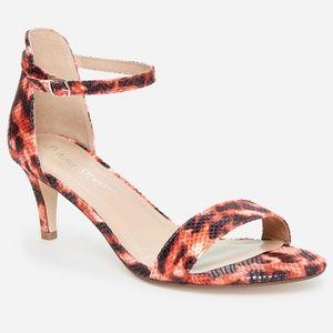 NNW Multi Design Short Strappy Heel 11W